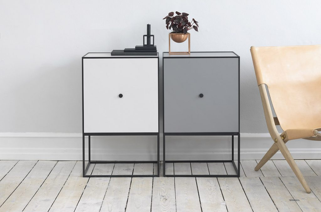 Modular cabinets by ByLassen, package design by Marc Southwell